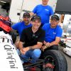 Bertrand Godin termine sur la première marche du podium au Grand Prix de Trois-Rivières en Formule 1600