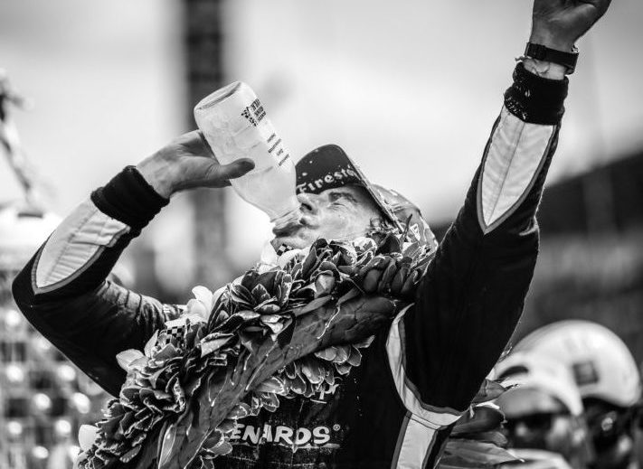 Why does the winner of the Indy 500 drink milk?