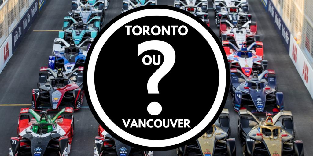 La Formule E pourrait être présentée à Toronto?? ou à Vancouver???