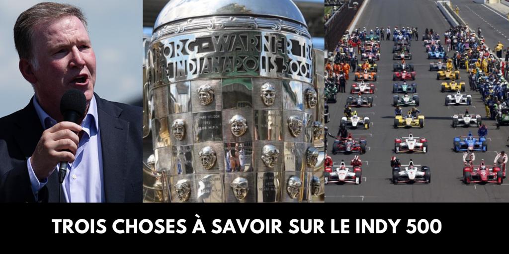 Trois choses à savoir sur les autres traditions du Indy 500